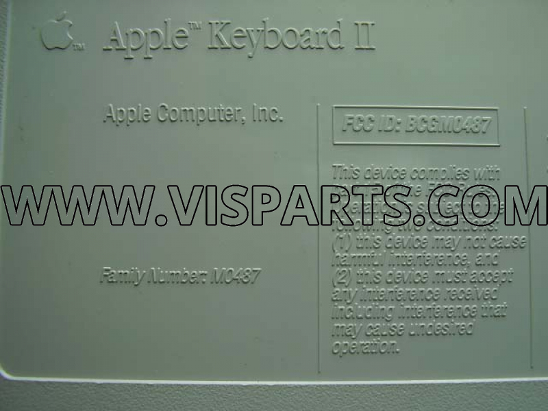 S/U Mac Classic ADB Keyboard II M0487