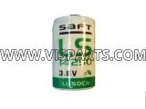 3.6V 1/2 AA Lithium Backup Clock Battery