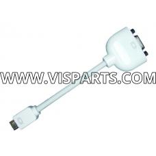 iBook / PB G4 / iMac / eMac mini VGA to External VGA Display Adapter Cable