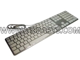Apple USB Aluminium Keyboard for OS 10.4.10 or higher British